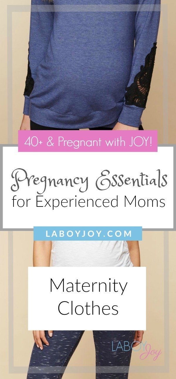 Pregnancy Essentials Series: Maternity Clothes