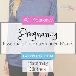 Pregnancy Essentials Series: Maternity Clothes